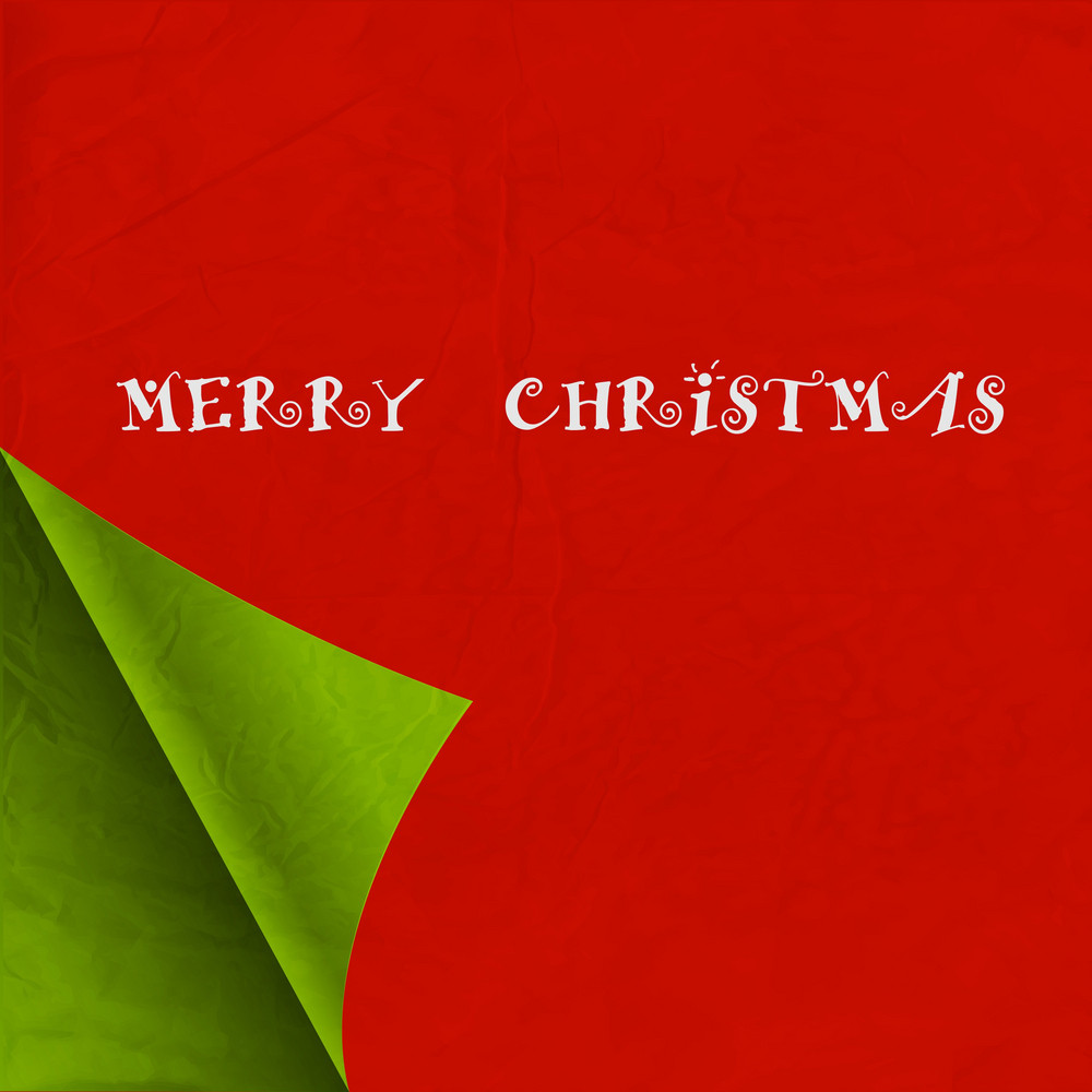 Paper Christmas Background
