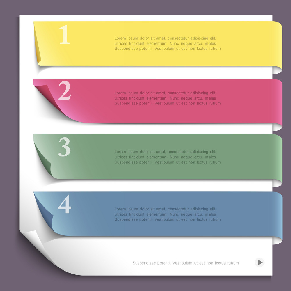 Paper Design Template For Website Layout