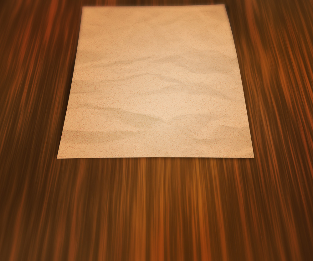 Paper On The Table Background