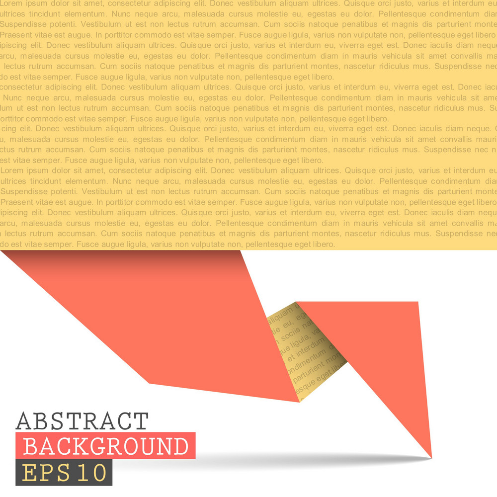 Paper Origami Vector Background
