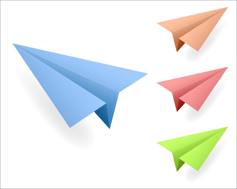 Paper Planes Vectors