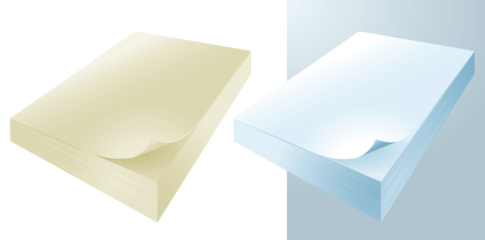Paper Vector Collection. Office Papers