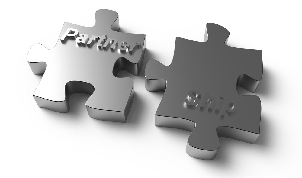 Partnership Written Puzzle Silver Pieces