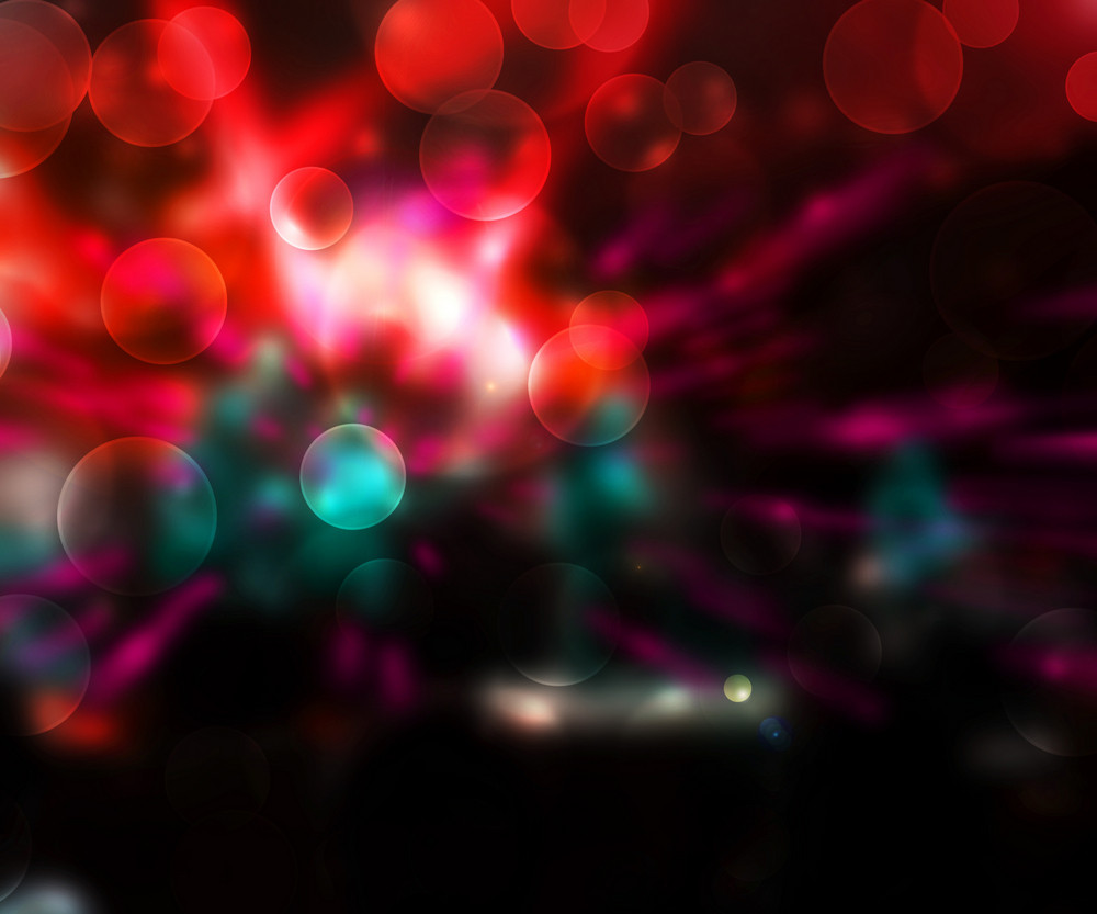 Party Abstract Red Background