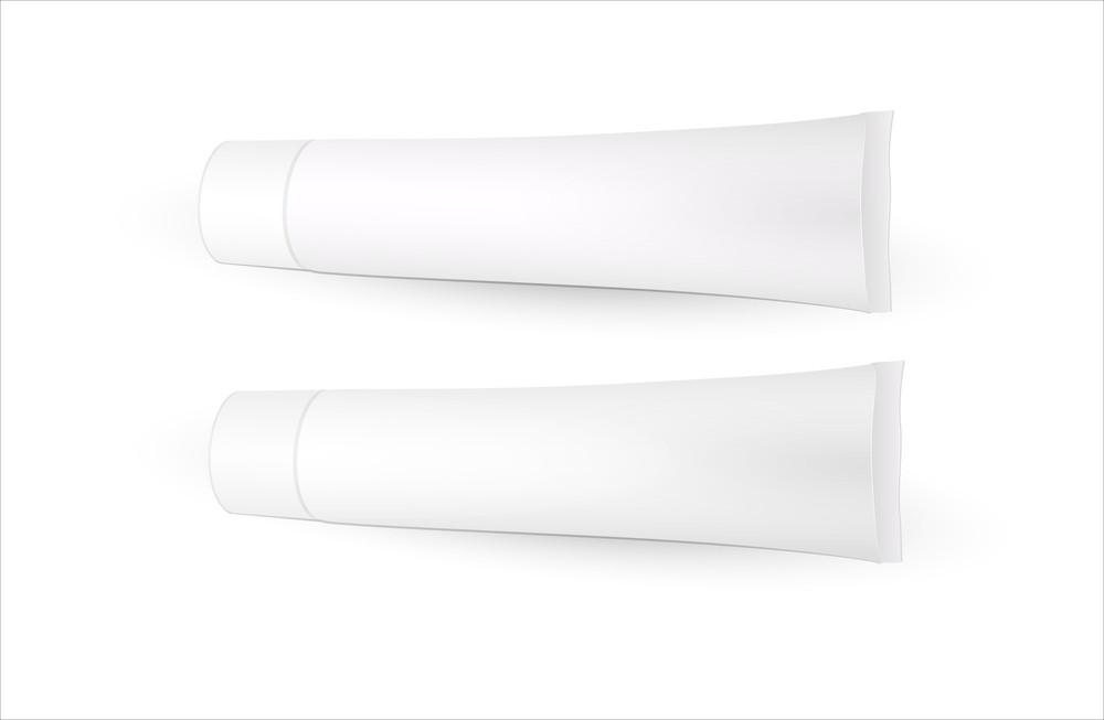 Paste Tubes Vector