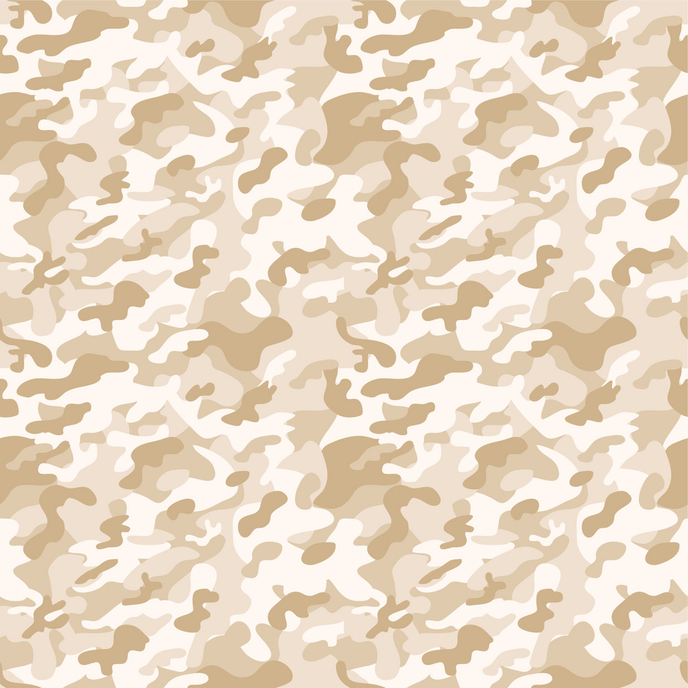 Pastel Brown Camouflage Pattern