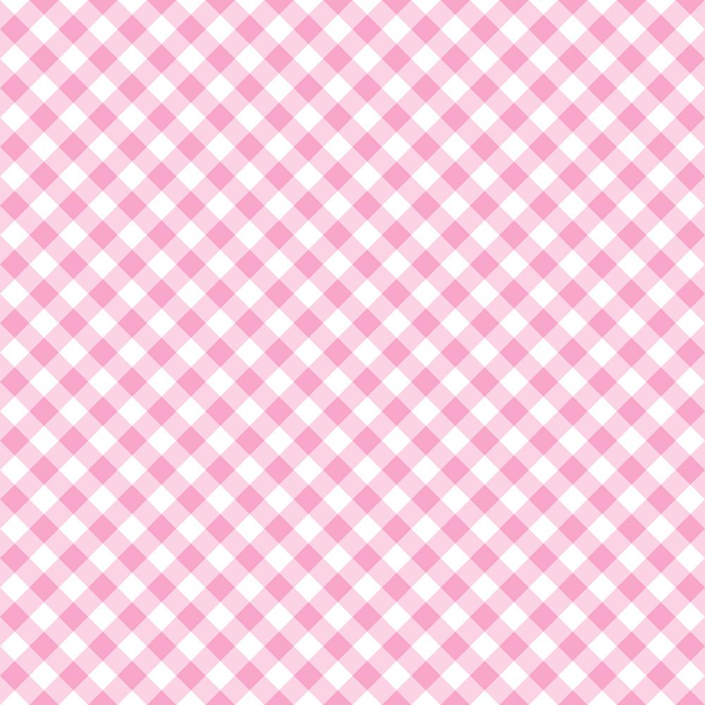 Pastel Purple Diagonal Gingham Pattern