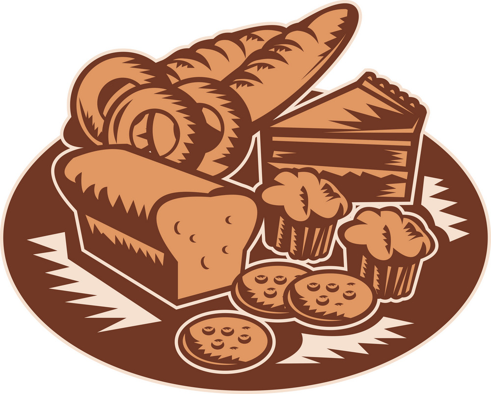 Pastry Bakery Bread Cookies Muffin