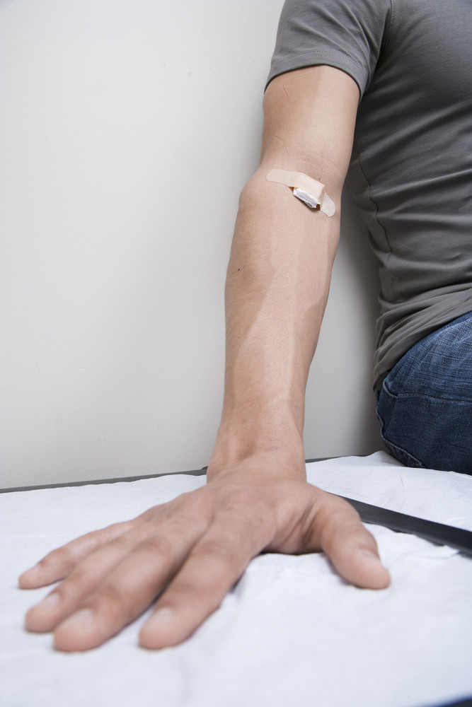 Patient after injection