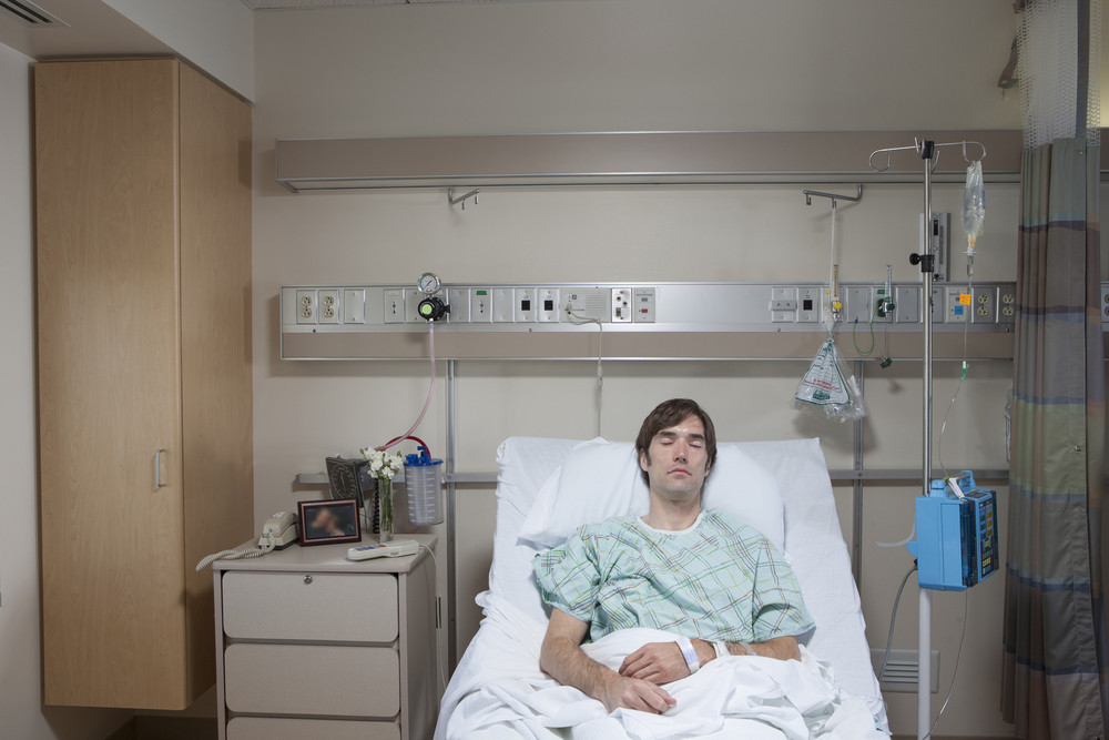 Patient at hospital