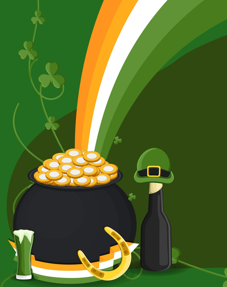 Patrick's Day Elements Vector Illustration
