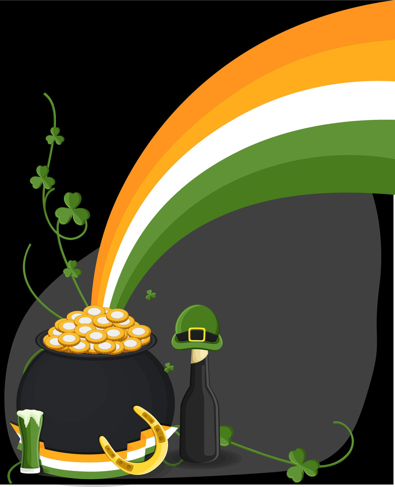 Patrick's Day Elements Vectors