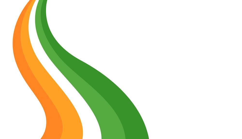 Patrick's Day Rainbow Banner