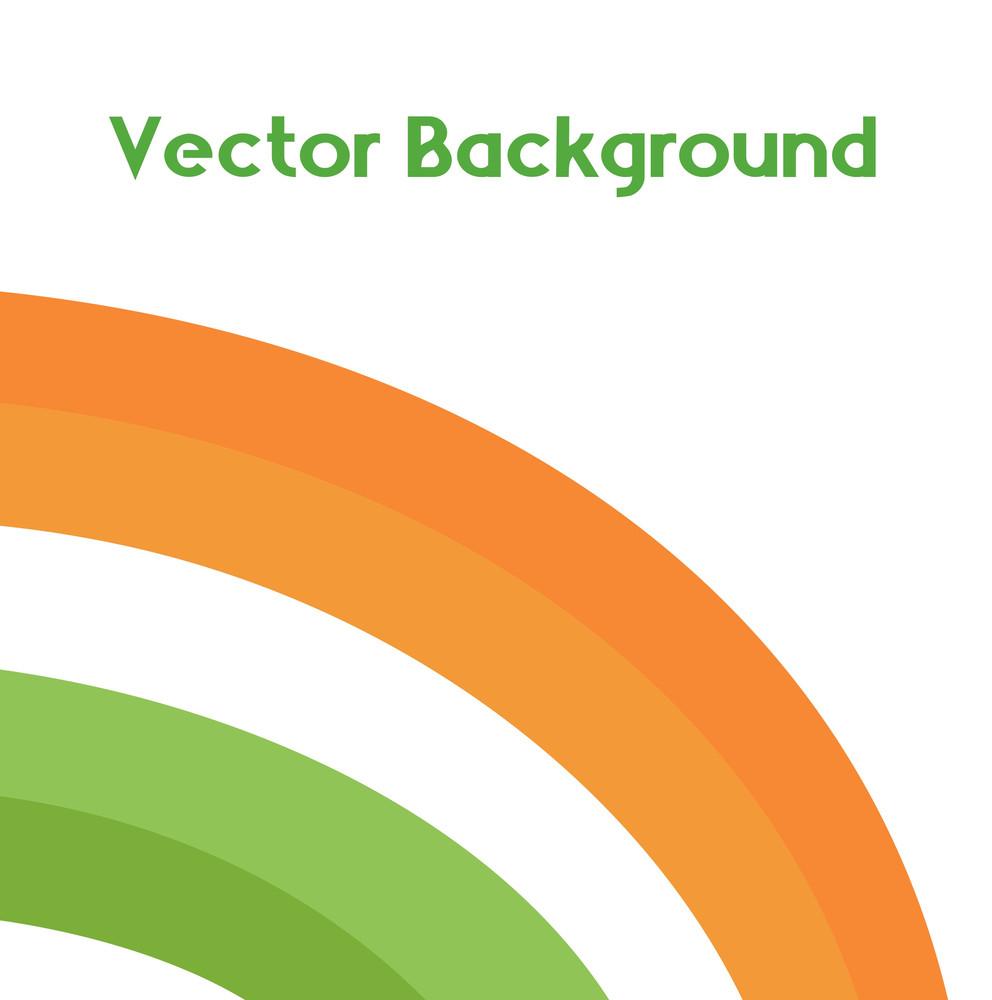 Patrick's Day Rainbow Design Background