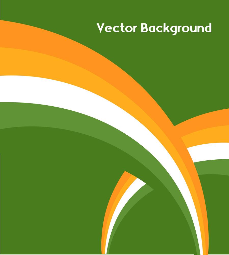 Patrick's Day Rainbow Design Vector Backdrop