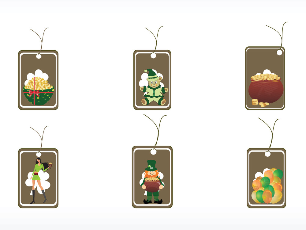 Patrick's Day Tags For Celebration