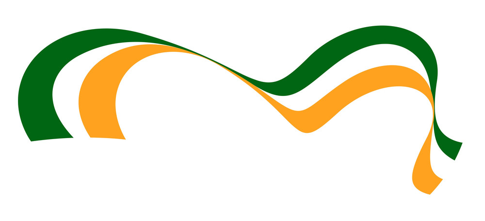 Patrick's Day Wave Flag