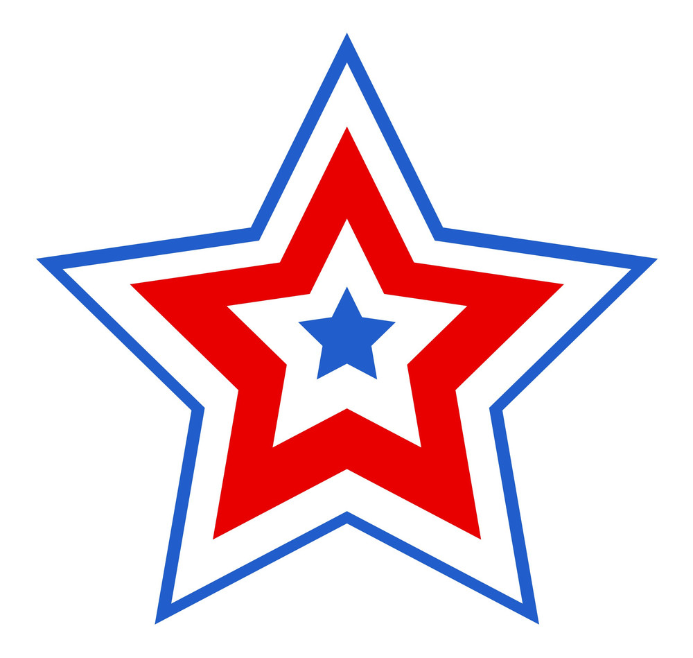 Patriotic Star Design