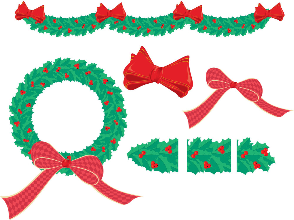 Pattern Brush For Illustrator To Create Your Unique Christmas Holly Decoration