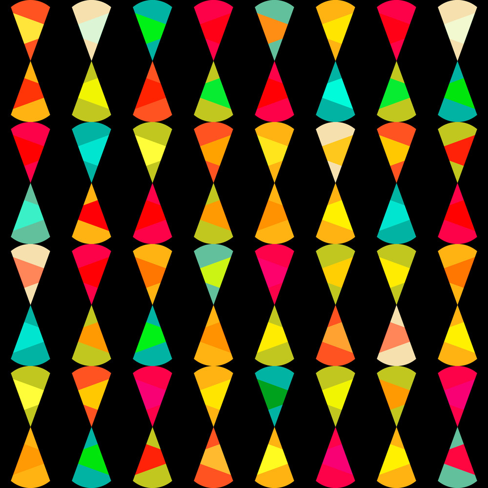 Pattern Of Geometric Shapes.texture With Flow Of Spectrum Effect. Geometric Background. Copy That Square To The Side