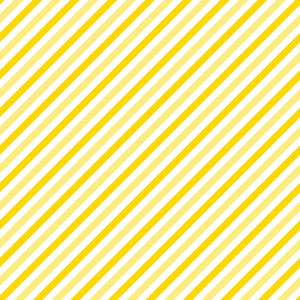 Pattern Of Yellow And White Diagonal Stripes On Mickey Paper