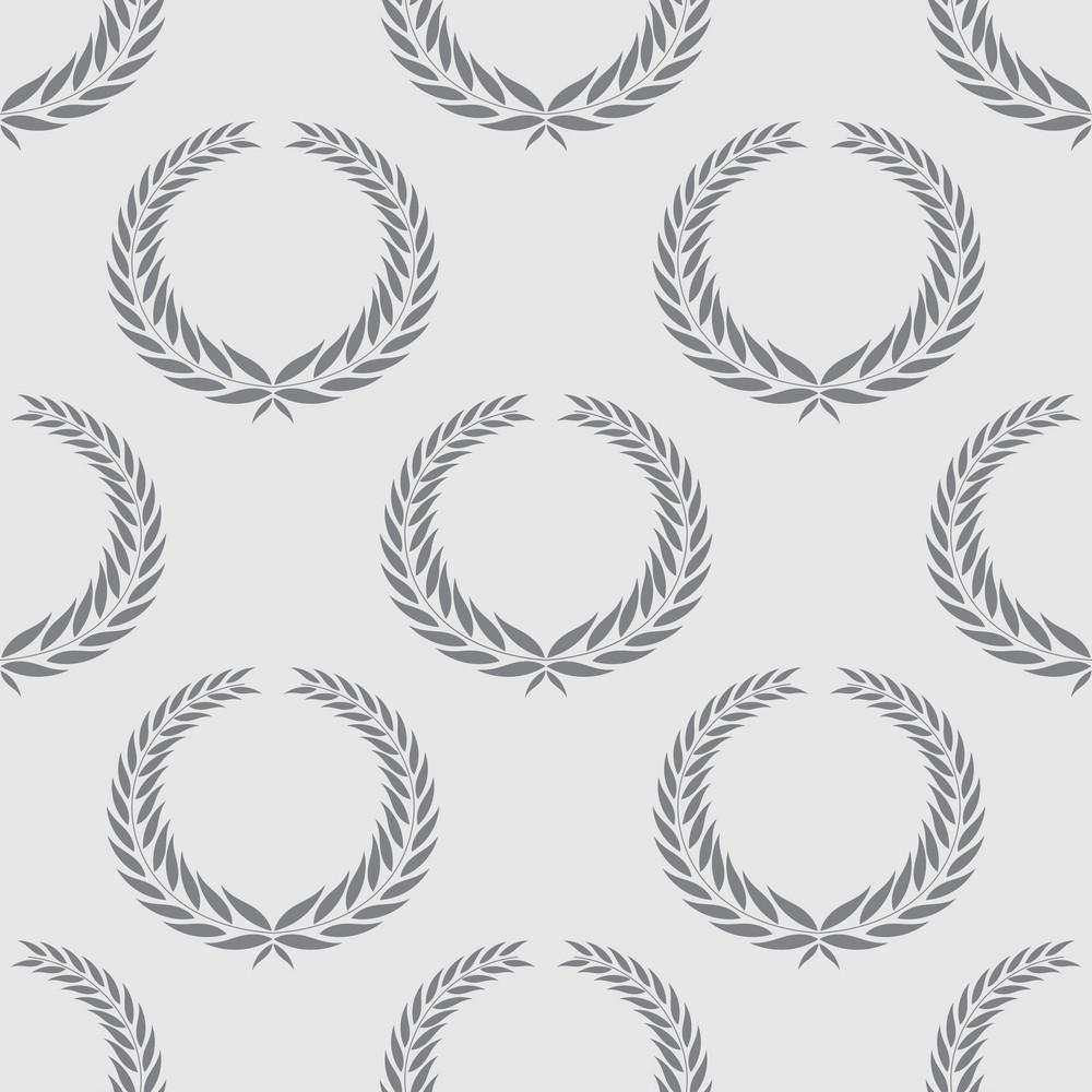 Pattern Vector Element With Laurel