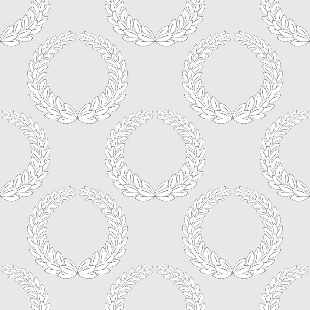 Pattern Vector Element With Laurel