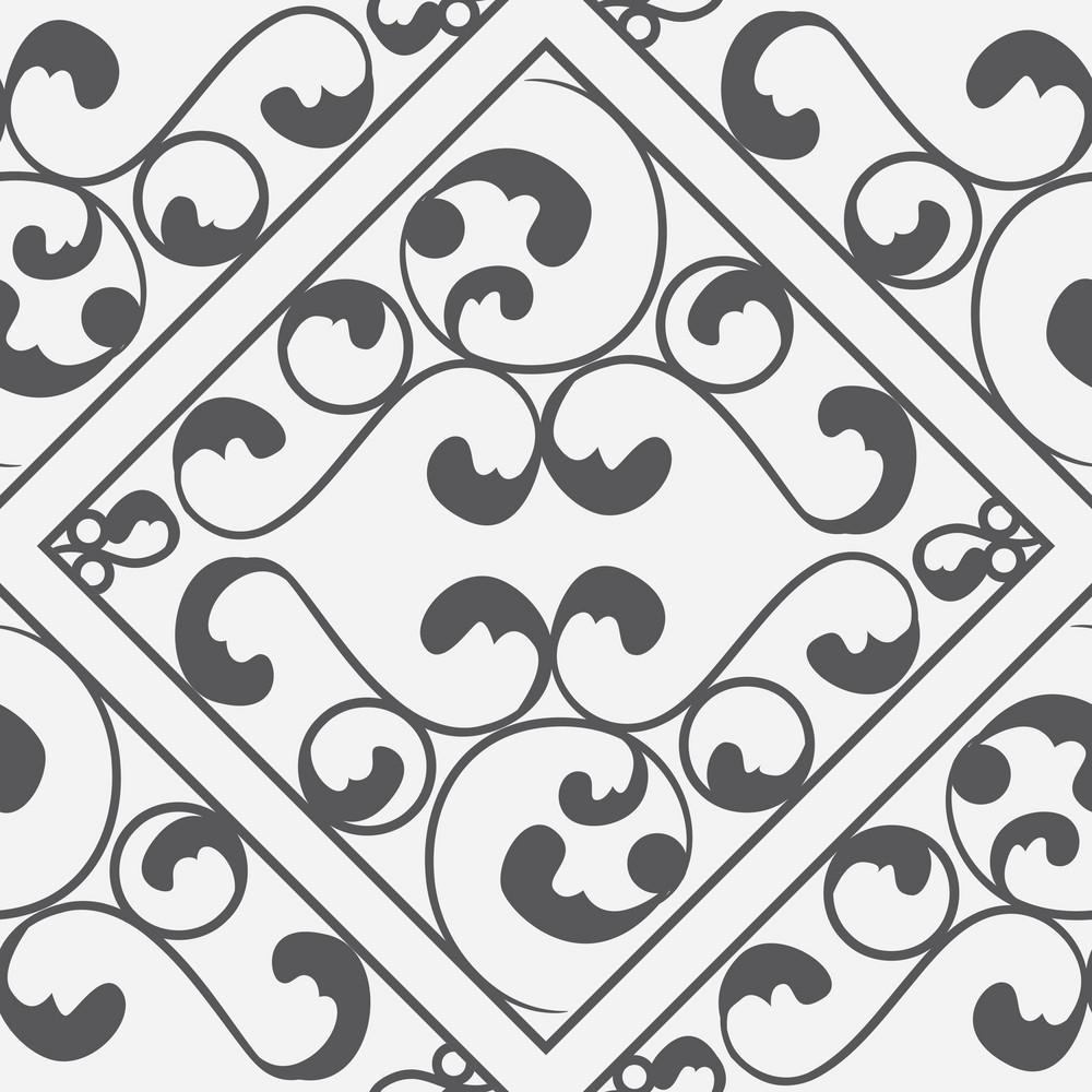 Pattern Vector Element With Vintage Element