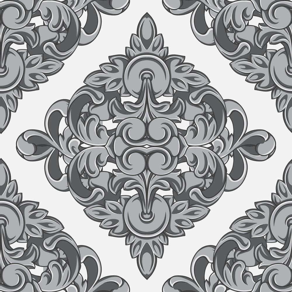 Pattern Vector Element With Vintage Element