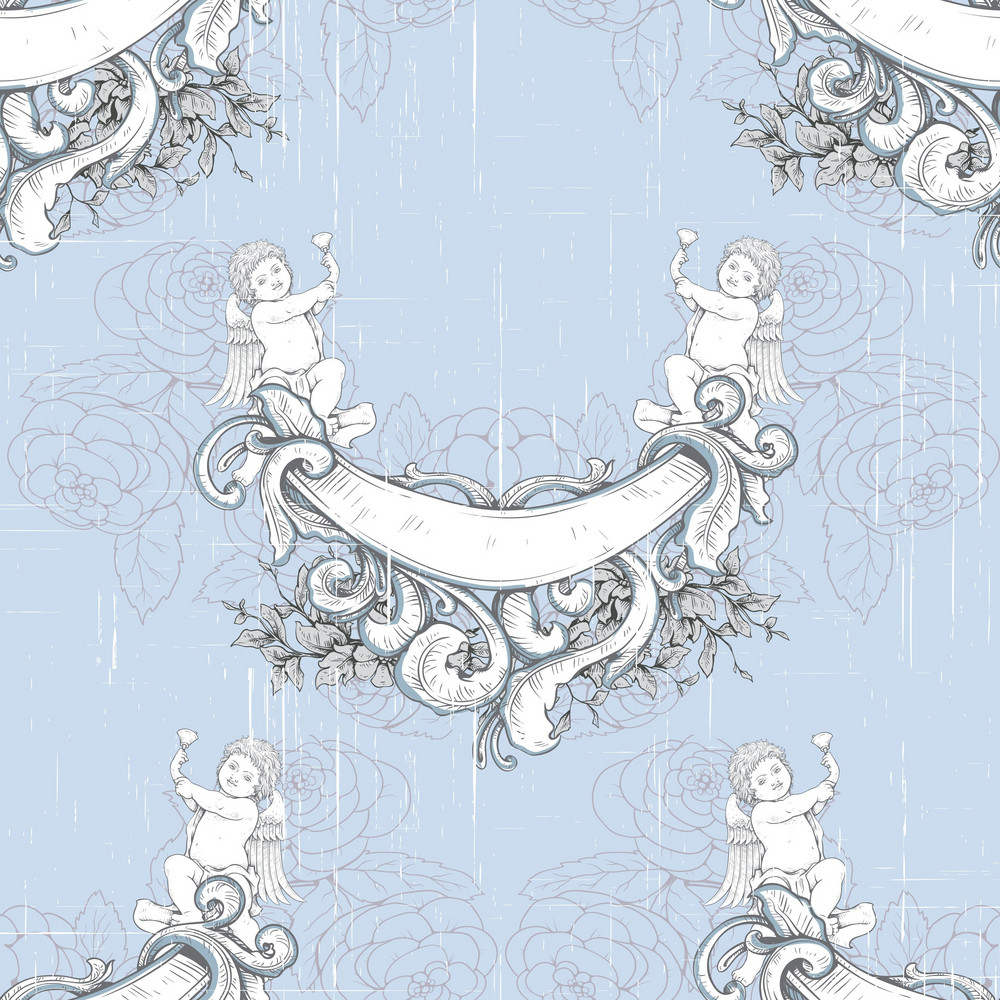 Pattern Vector Element With Vintage Elements