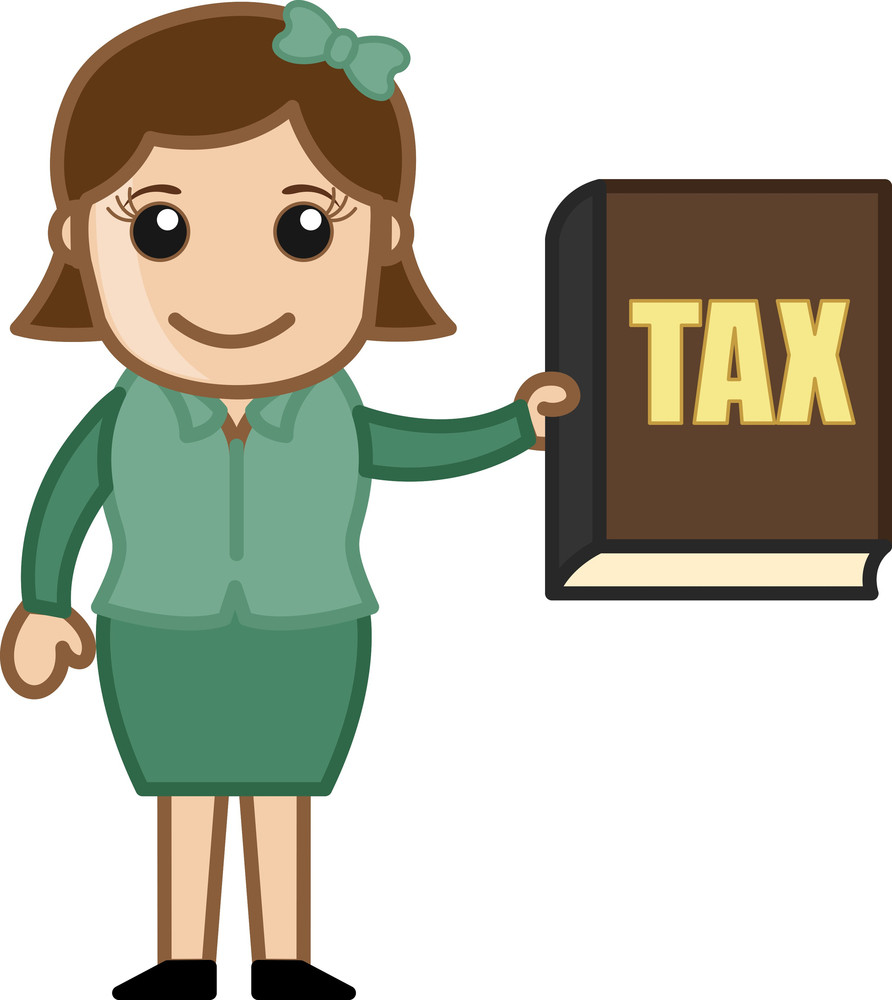 Pay Your Tax - Know - Business Cartoons Vectors