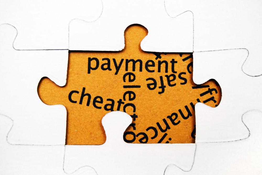 Payment Puzzle Concept