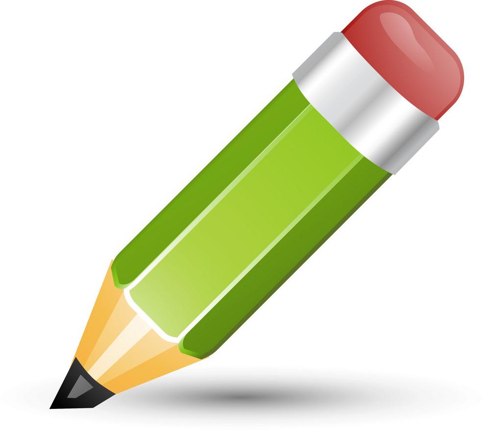 Pencil Green Lite Ecommerce Icon