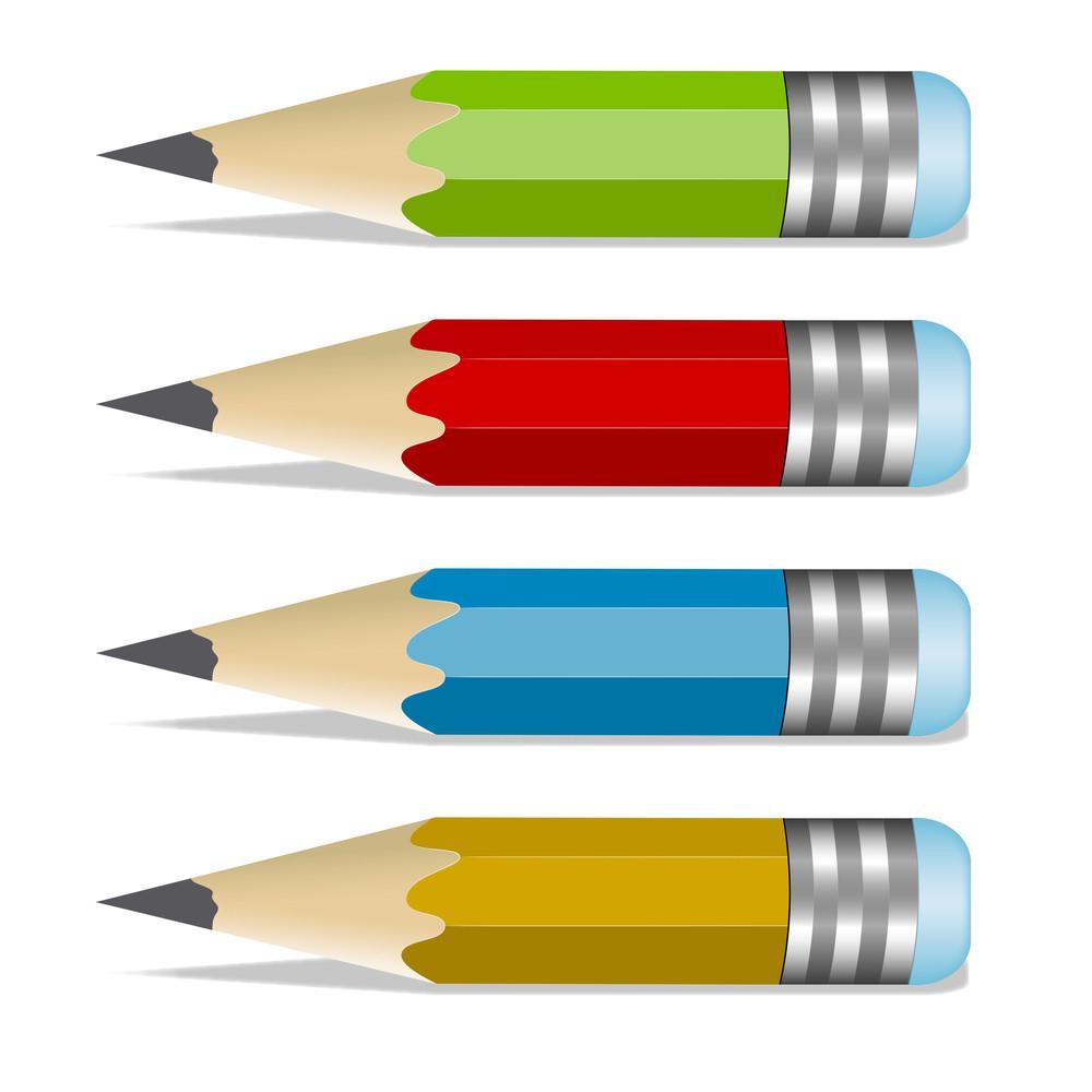 Pencils Vectors