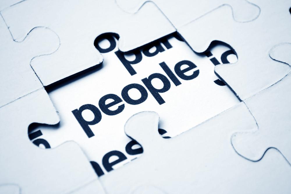 People Puzzle Concept