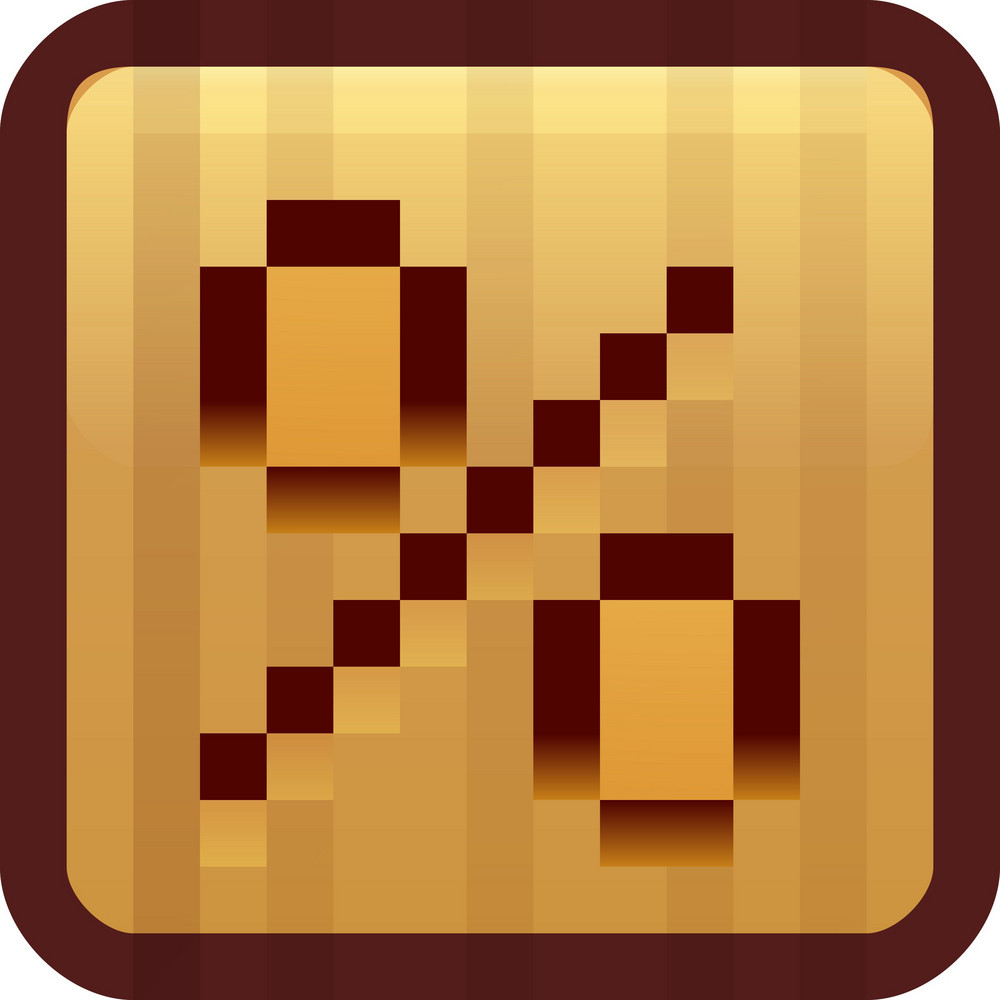 Percentage Brown Tiny App Icon