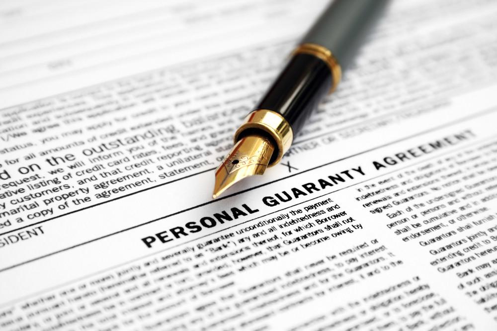 Personal Guaranty Agreement Royalty Free Stock Image Storyblocks