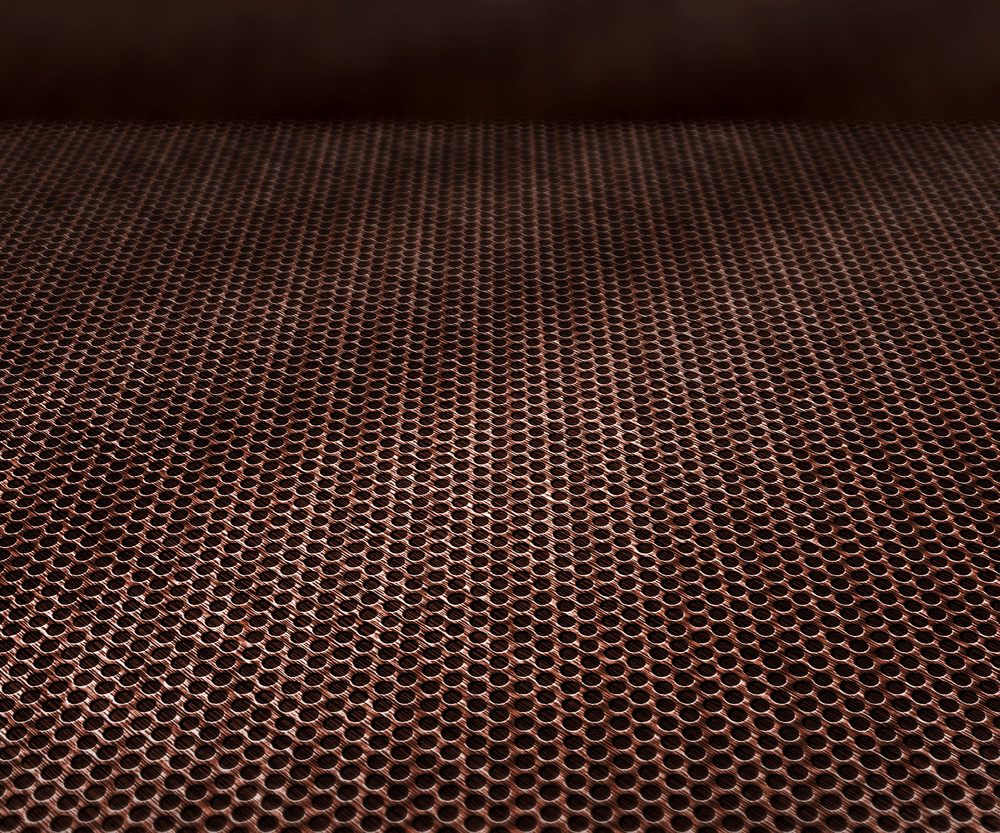 Perspective Metal Texture Stage Background