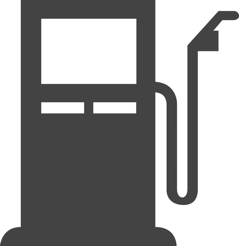 Petrol Station Glyph Icon