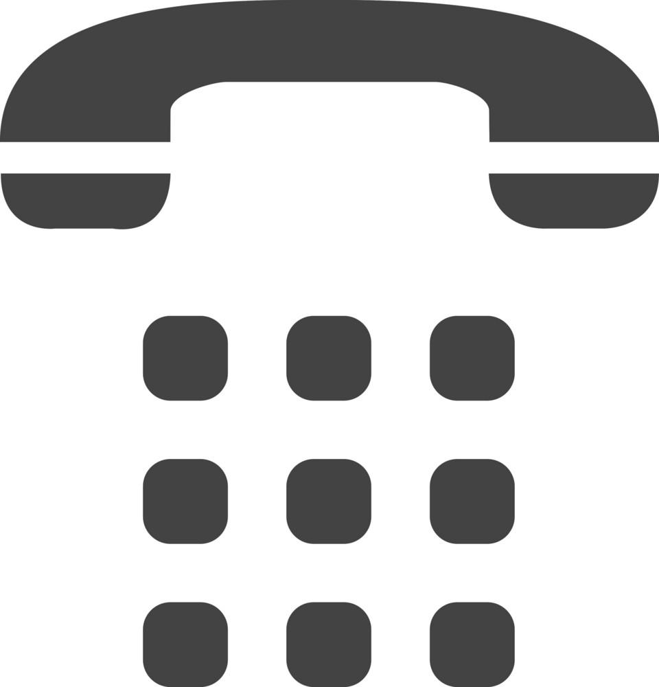 Phone 1 Glyph Icon