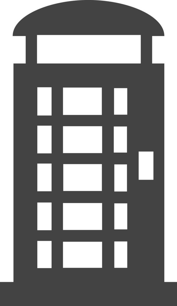 Phone 5 Glyph Icon