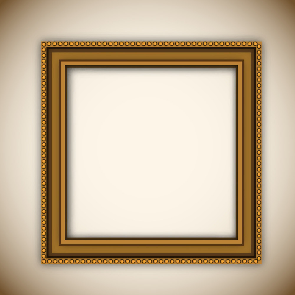 Photo Frame On Abstract Background