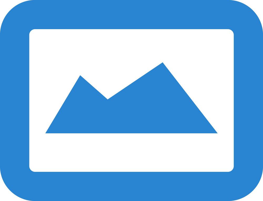 Photograph Simplicity Icon