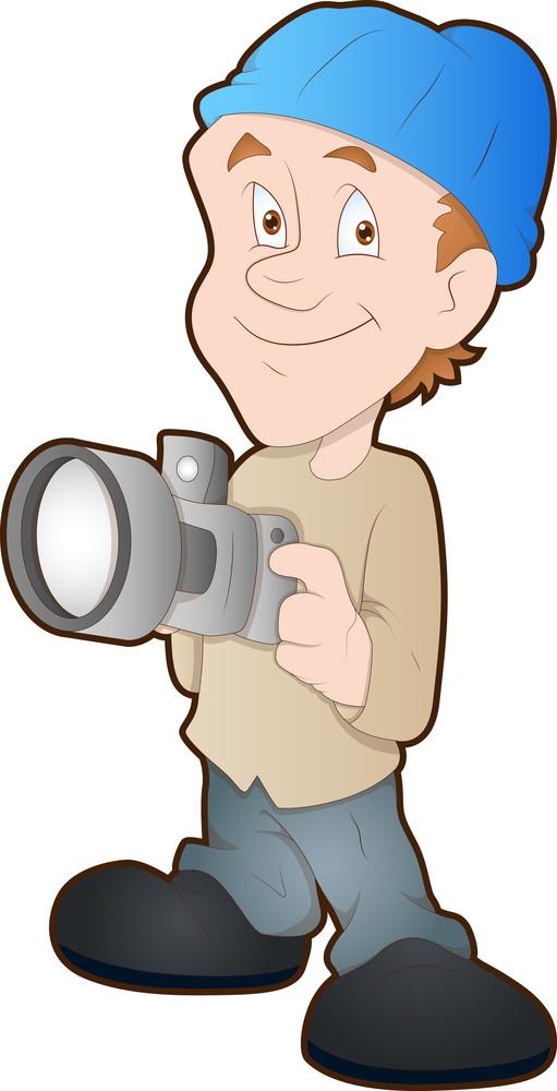 Photographer - Cartoon Character