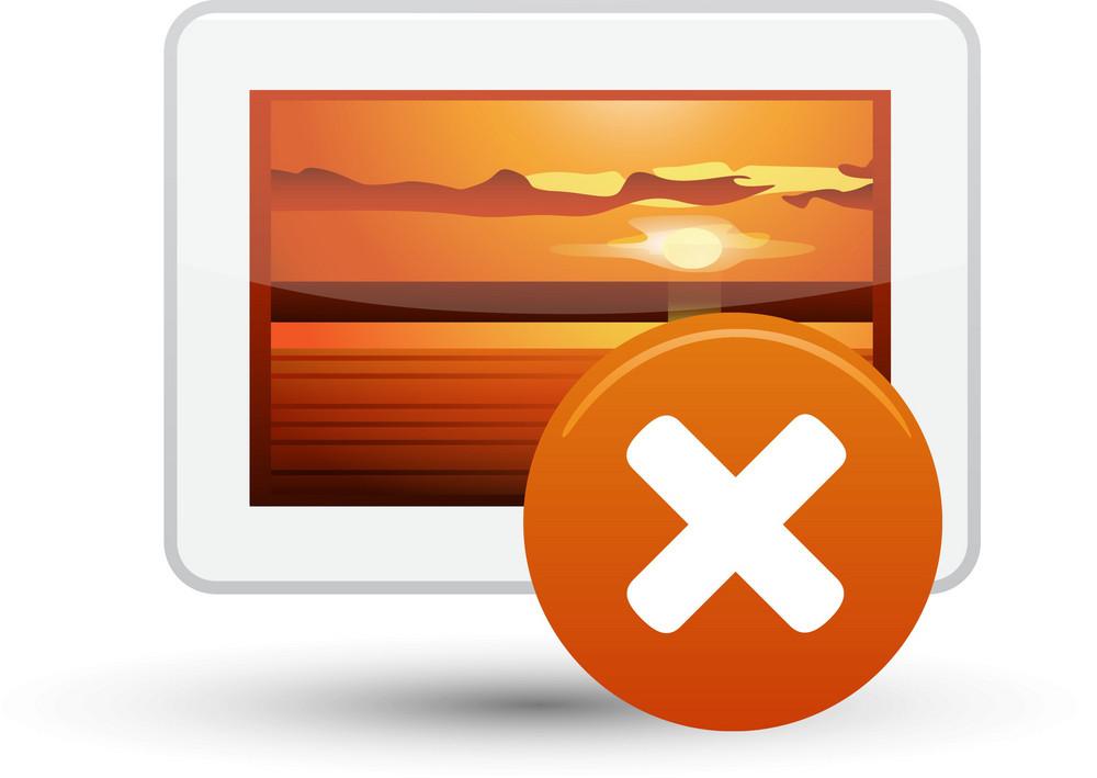 Picture Delete Lite Media Icon
