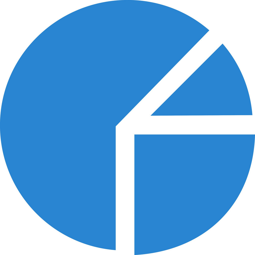 Pie Chart Simplicity Icon