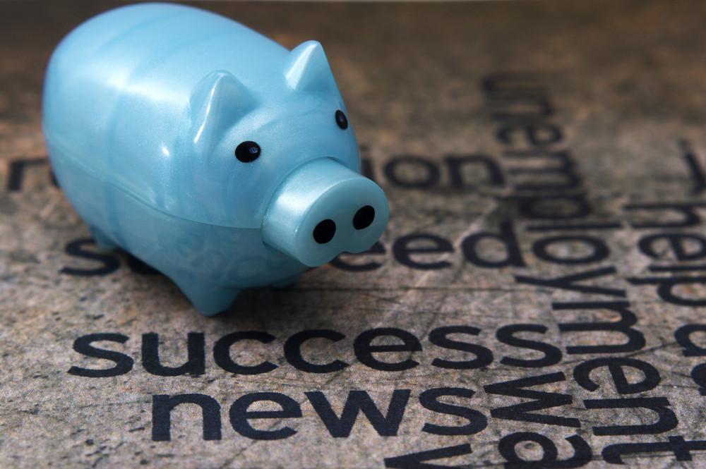 Piggy Bank And Success Concept
