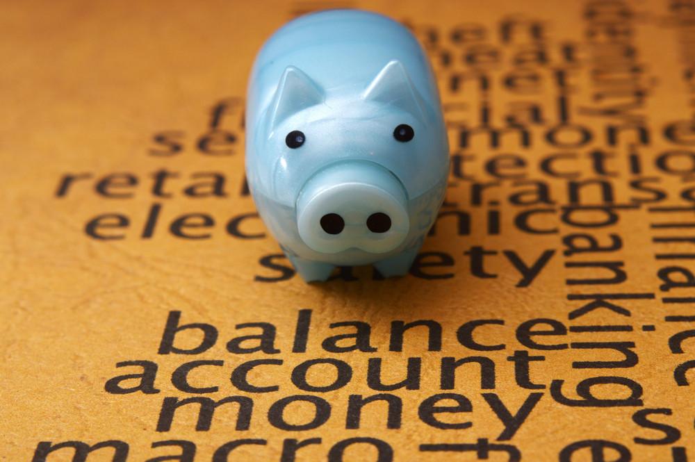 Piggy Bank On Balance Account Money