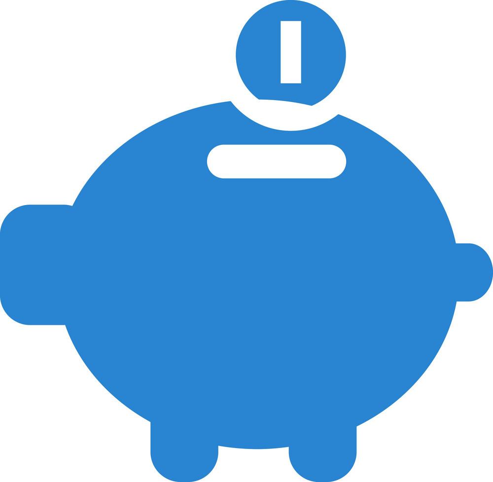Piggy Bank Simplicity Icon
