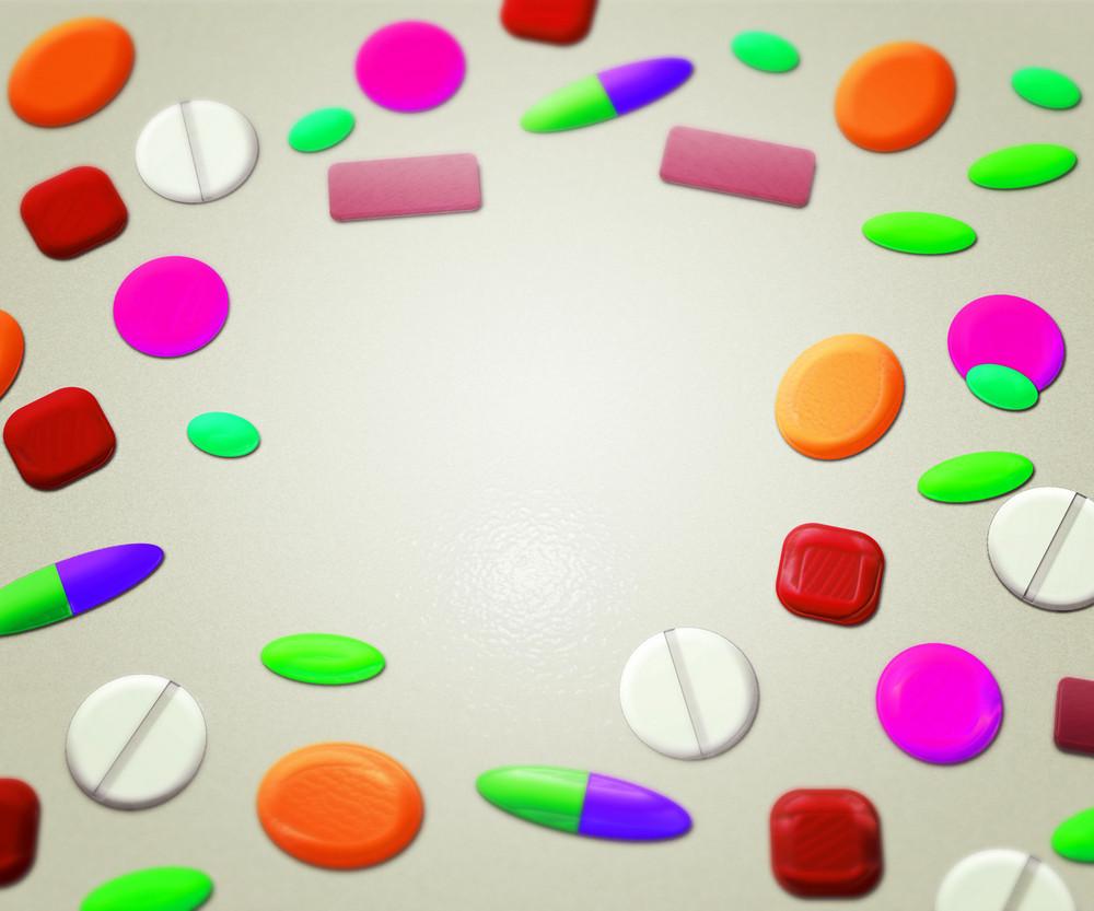Pills Medical Background